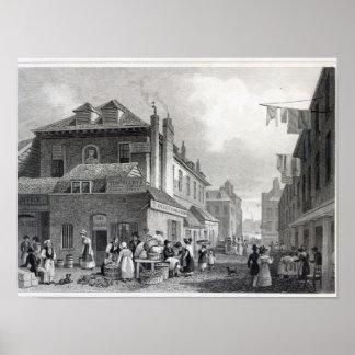 Hungerford Market, Strand, engraved Thomas Poster