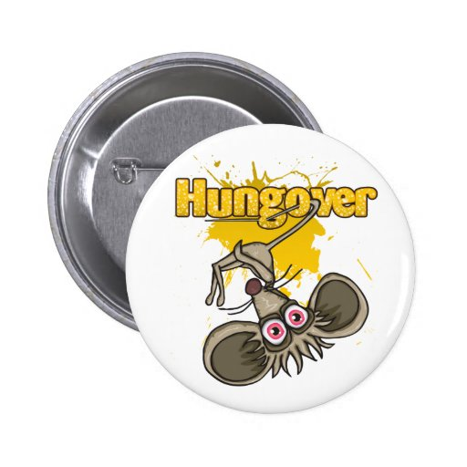 Hungover Button
