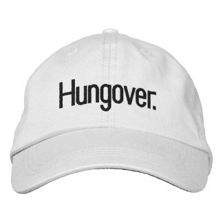 Hungover Cap Embroidered Baseball Caps