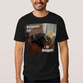 Hungover Cat T Shirt