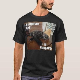 Hungover Cat T-Shirt