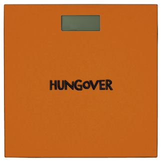 Hungover Florescent Bathroom Scale