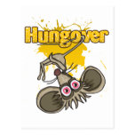 Hungover Mouse Postcard