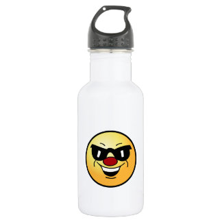 Hungover Smiley Face Grumpey Water Bottle