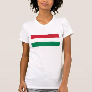 Hungría - bandera nacional húngara camisetas