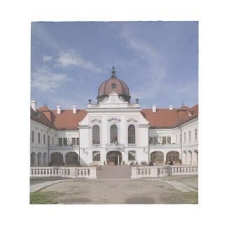 Hungría, Budapest, Godollo: Mansión real, hogar Libreta Para Notas