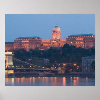 HUNGRÍA, Budapest: Puente (de cadena) de Szechenyi Impresiones