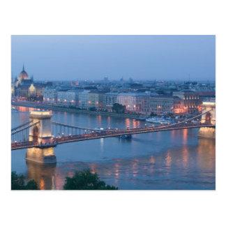 HUNGRÍA, Budapest: Puente (de cadena) de Szechenyi Postales