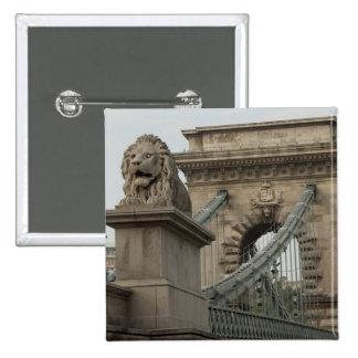 Hungría, capital de Budapest. 2 históricos Pin