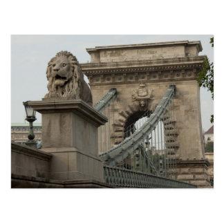 Hungría, capital de Budapest. 2 históricos Tarjetas Postales