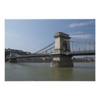 Hungría, capital de Budapest. 3 históricos Impresion Fotografica