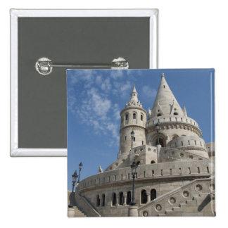 Hungría, capital de Budapest. Buda, castillo 2 Pin Cuadrado