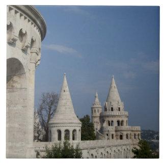 Hungría, capital de Budapest. Buda, castillo Azulejo Cuadrado Grande