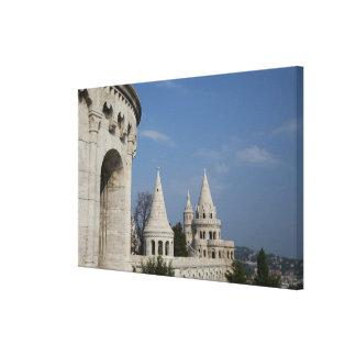 Hungría, capital de Budapest. Buda, castillo Impresiones En Lienzo Estiradas