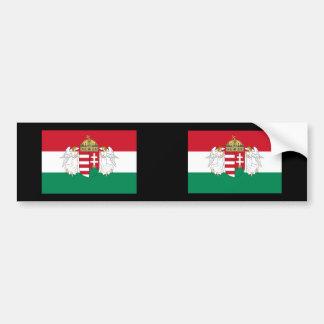 Hungría, Hungría Pegatina Para Auto