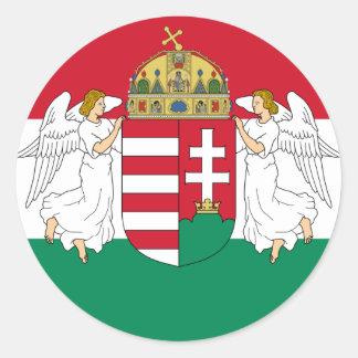 Hungría, Hungría Pegatina Redonda