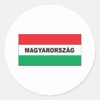 Hungría Pegatinas Redondas