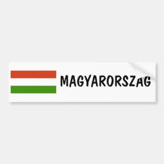 Hungría Pegatina Para Auto