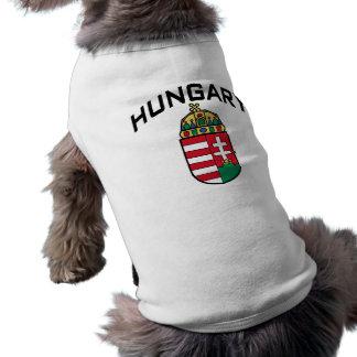 Hungría Playera Sin Mangas Para Perro