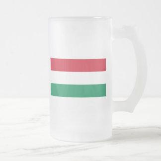 Hungría Taza Cristal Mate