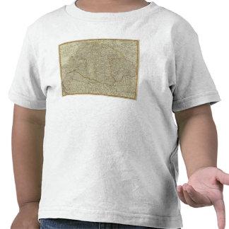 Hungría, Transilvania, Sclavonia, Croacia Camiseta