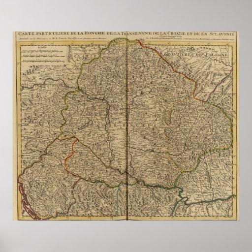 Hungría y Rumania Póster