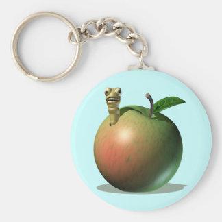 Hungry Apple Grub Keychains