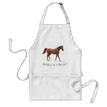 Hungry as a horse? adult apron