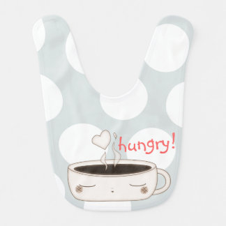 hungry baby cup baby bibs