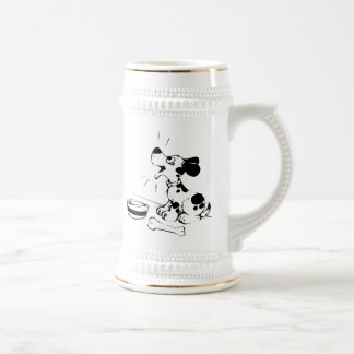 Hungry Barking Dog Beer Stein