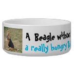 Hungry Beagle Bowl Dog Water Bowl