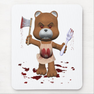 Hungry Bear Mouse Pad