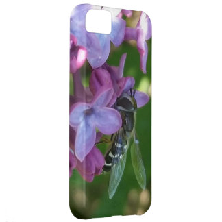 Hungry Bee and Lilacs iPhone 5C Cover