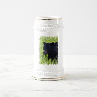 Hungry Black Bear Beer Stein Coffee Mugs