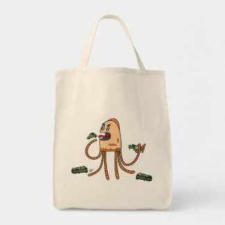 Hungry Bot - Grocery Tote