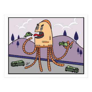 Hungry Bot - PostCard