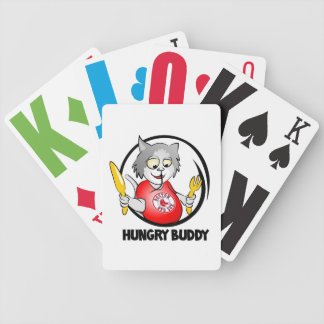 Hungry Buddy Playing Cards