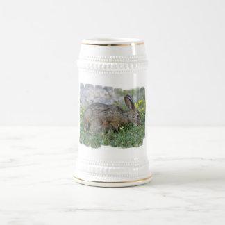 Hungry Bunny Beer Stein Coffee Mugs