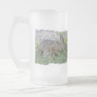 Hungry Bunny  Frosted Mug