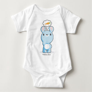 Hungry Bunny Infant Baby Bodysuit