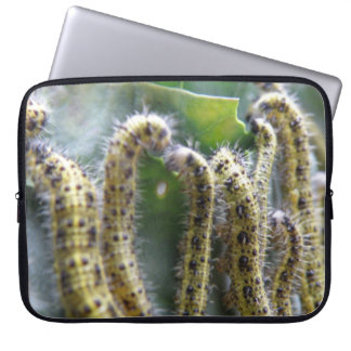Hungry Cabbage White Caterpillars Laptop Bag
