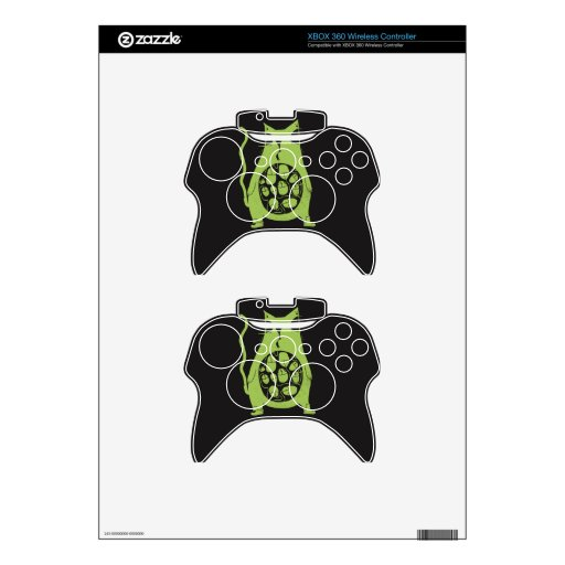 hungry cat is hungry xbox 360 controller skin