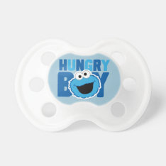 Hungry Cookie Monster Pacifier at Zazzle