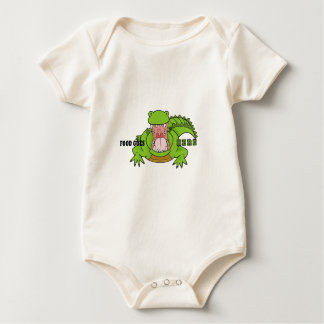 Hungry Croc Baby Bodysuit