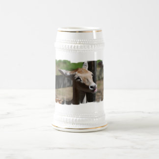 Hungry Deer Beer Stein Mug