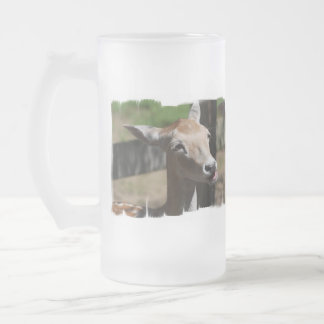 Hungry Deer Frosted Mug