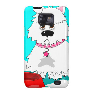 Hungry dog empty dish samsung galaxy s2 covers