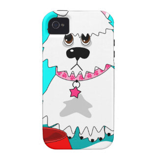Hungry dog empty dish iPhone 4 case