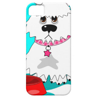 Hungry dog empty dish cover for iPhone 5/5S