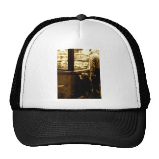 Hungry dog in Italy Trucker Hat